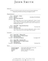 current resume exles current resume exles