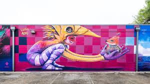 Murals Custom Hand Painted Wall Murals By Art Effects Sxsw Art Program Sxsw Conference Festivals