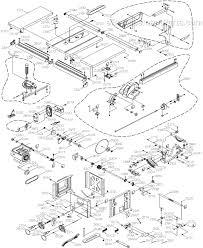 Hitachi C10fr Table Saw Hitachi C10fl Parts List And Diagram Ereplacementparts Com