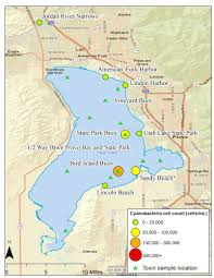 Map Of Provo Utah by Utah Lake Algal Bloom 2017 Utah Department Of Environmental Quality