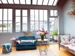 Parisian Interior Design Style Romantic And Eclectic Duplex Apartment In Paris Interior Design
