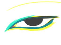 photoshop app sketch on ipad tags emotionless eye drawing art