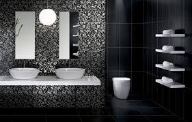bathroom tiles black and white ideas black bathroom tiles ideas thesouvlakihouse