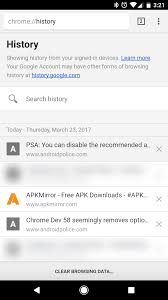 chrome free apk chrome beta 58 adds support for screen progressive web apps