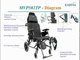 karma mvp 502 recliner wheelchair series karman healthcare video