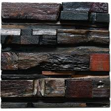 recycled wood 3d grain vintage wooden wall panels interior
