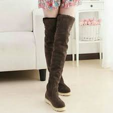 s ugg type boots brown thigh high ugg style boots 8 from s closet on