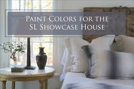 paint colors for the southern living showcase house the decorologist