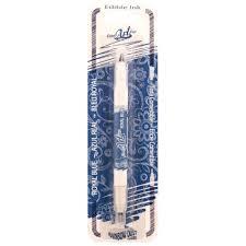edible pen us royal blue rainbow dust sided edible pen bee s baked