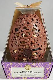fruit and nut easter eggs marks and spencer lattice fruit and nut easter egg milk chocolate