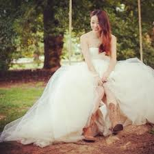 wedding dresses to wear with cowboy boots 19 best tmt cowboy boots and wedding dresses images on