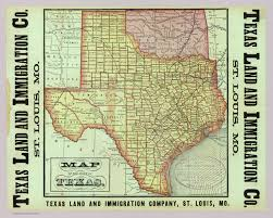 State Of Texas Map State Of Texas David Rumsey Historical Map Collection