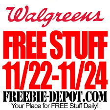 walgreens thanksgiving free stuff freebie depot
