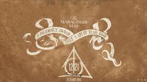 Harry Potter Map Marauder U0027s Map Harry Potter Theme Rainmeter