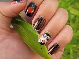football nail art design youtube 45 refreshing green nail art