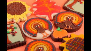 Decorated Halloween Sugar Cookies by Fall Cookie Decorating Decorations Ideas Youtube