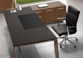bureau bois design contemporain bureau direction cuir au design contemporain découvrez le