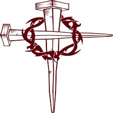 jesus christian cross crown of thorns god bible car