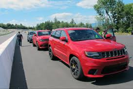 trackhawk jeep engine jeep unleashes fastest most powerful suv ever wheels ca