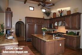 Traditional Italian Kitchen Design Classic Italian Wooden Kitchen Cabinets Designs