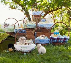 easter basket liners personalized rabbit easter basket liners pottery barn kids