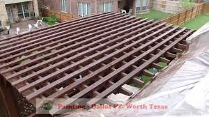 Metal Gazebos And Pergolas by Deck Staining Pergola Gazebo Decks Painting Dallas Ft