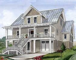 narrow waterfront house plans beach house plans e architectural design