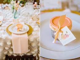 A little Peach Vintage Baby Shower Ideas