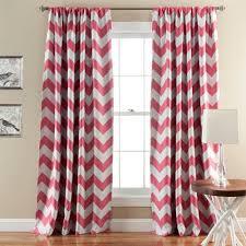 chevron bedroom curtains lush decor chevron blackout window curtain pair walmart com