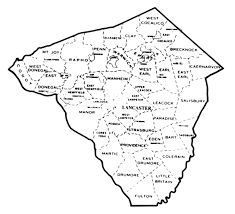 map of lancaster pa lancaster county housers