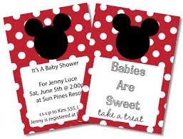 free mickey mouse baby shower invitations u0026 clipart minnie mouse