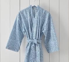 jerrie print kimono robe pottery barn