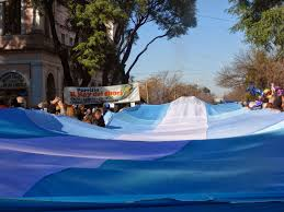 Argentina Flag Face Gaucho Dancing And Flag Day In Argentina