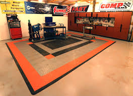 orange garage floor paint color cheerful ideas orange garage