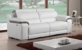 canapé relax électrique cuir canapé relax électrique cuir maison design 3 places relaxation