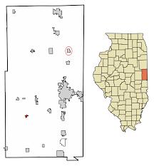 Illinois Flooding Map by Fairmount Illinois Wikipedia