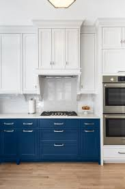 top cabinets different color than bottom two tone kitchen cabinet ideas how use 2 colors in kitchen
