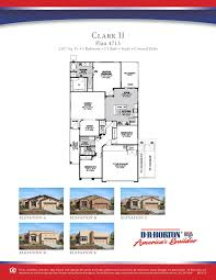 Dr Horton Cambridge Floor Plan by Dr Horton House Plans