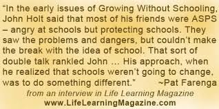 quotes about unschooling