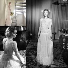 cheap sleeve wedding dresses hod vintage max lace pearls boho sleeve wedding dresses