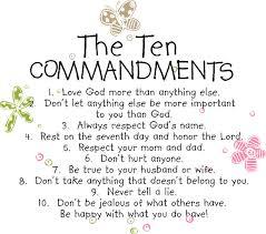 ten commandments quotes like success