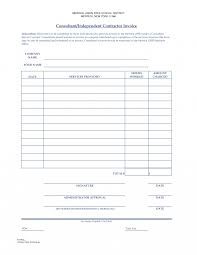 simple contract format template for price list