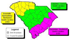 charleston sc zip code map w e r south carolina zip code maps