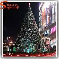 outdoor green metal lighted christmas trees outdoor green metal