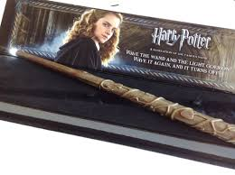 noble collection harry potter hermione granger illuminating