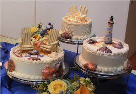 Cake Decorations Beach Theme - beach wedding decorations ideas for a beach themed wedding