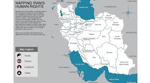 Tehran Map Putting Rights Violations On The Map In Iran Techpresident