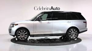 range rover silver 2015 2014 land rover range rover autobiography lwb executive class rear