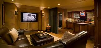 Large Brown Leather Sofa Large Screen And Ls On The Wall Combined With Brown