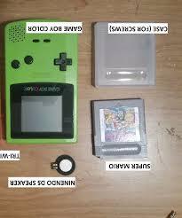 Game Boy Color Upgrade Speaker Ds 3 Steps Gameboy Color